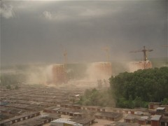 Холодный фронт ворвался в город Московский