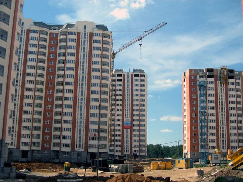 ДСК-1 строительство жилого микрорайона г. Московский