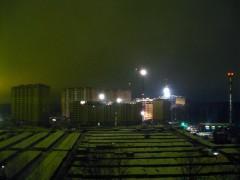 ЖК Юго-Западный - ночная стройка