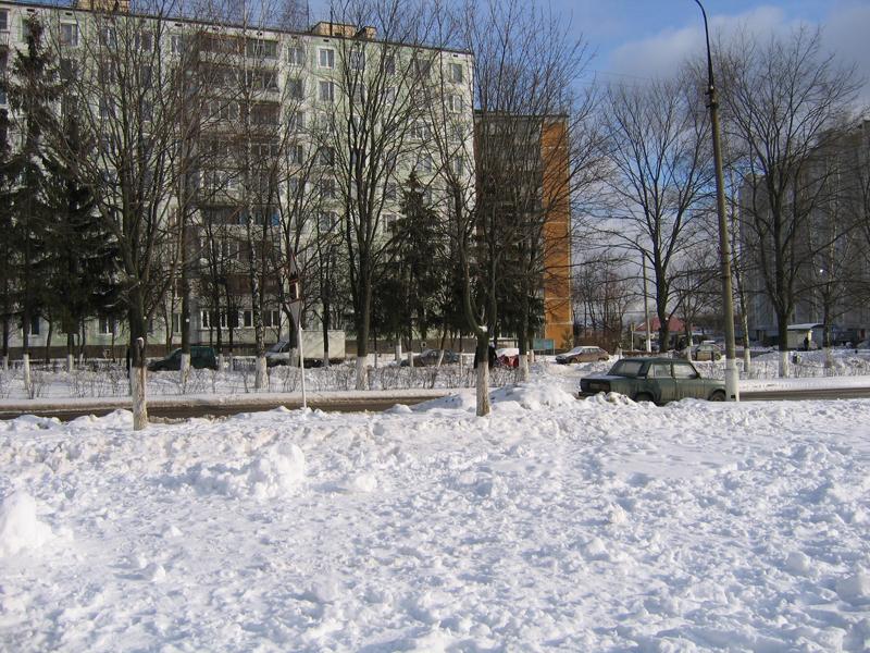 Много снега!