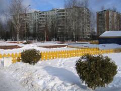 Зимой в Московском