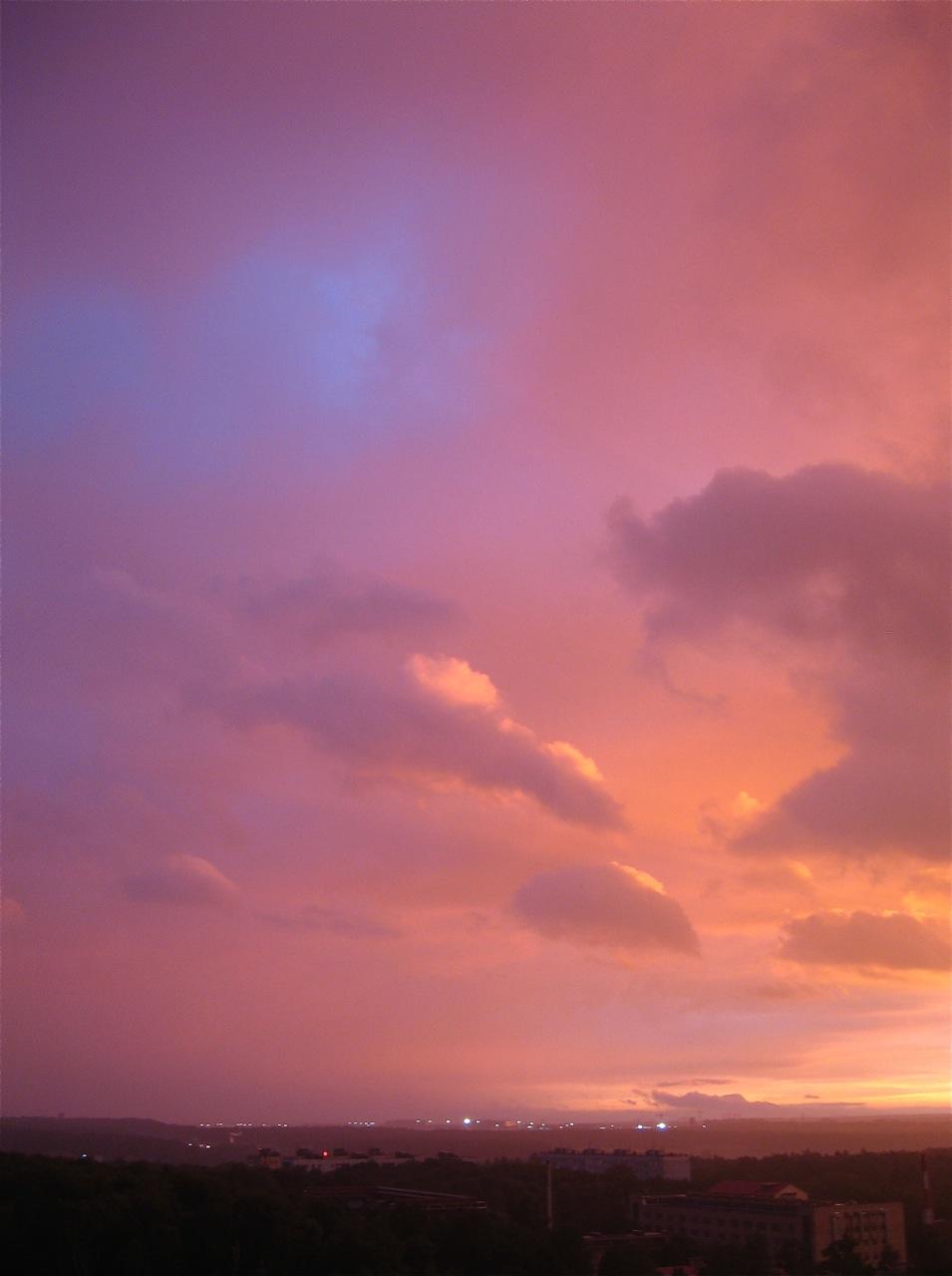Очередной закат