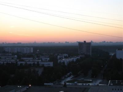 Рассветы в старом Московском