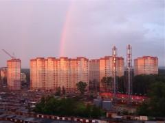 ЖК Юго-Западный после дождя =)