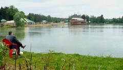 Рыбалка на озере Чайка