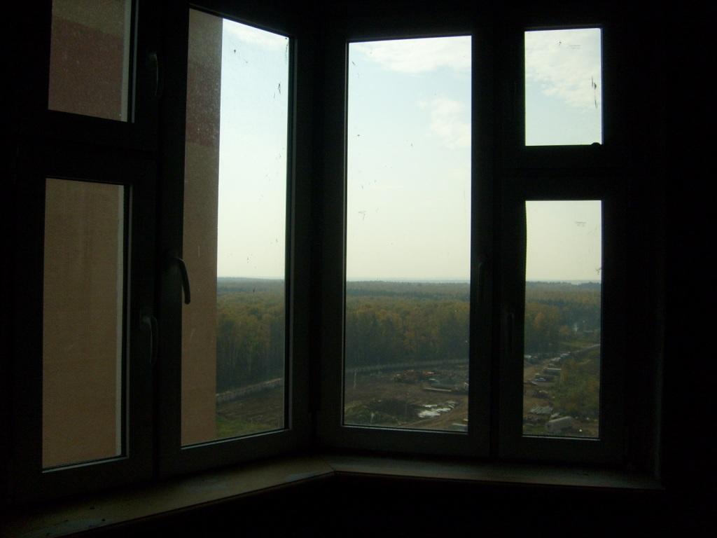 Вид из большой комнаты