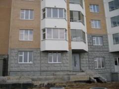Наши окна на 2 этаже :)