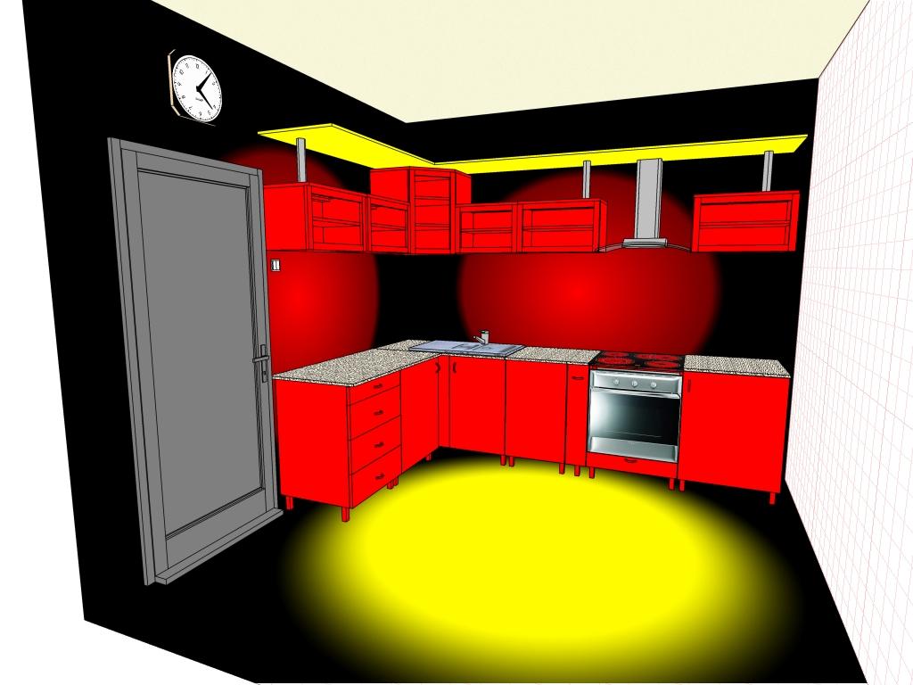 Проектирую самопальную кухню