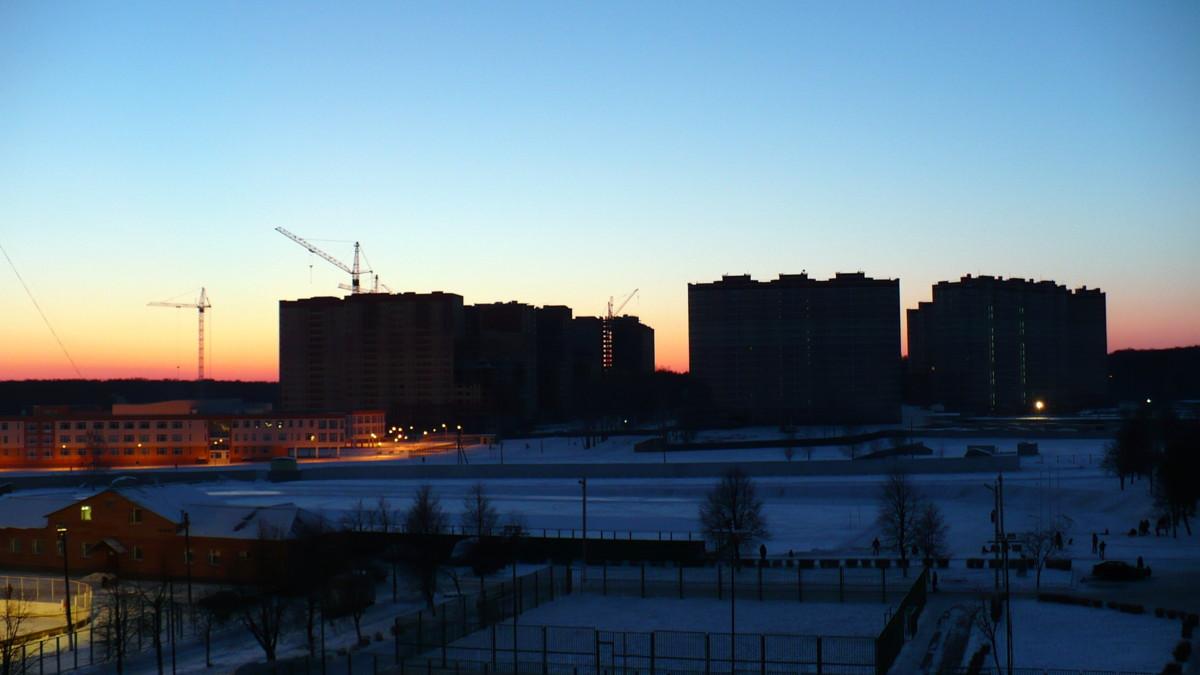 04.01.09  Закат в Ю-З