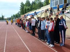 Областные соревнования в Дедовске.
