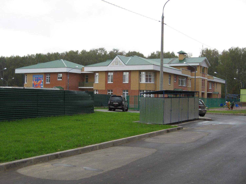 Здание детского сада в ЖК Юго-Западный