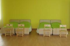Спальня в новом детском саду