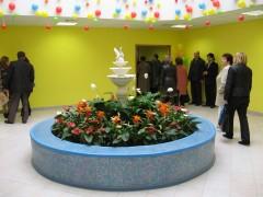 Новый детский сад встречает гостей