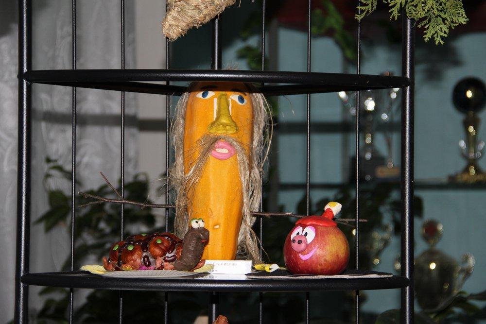 Тыквенный бюст, черепашка и Нюша