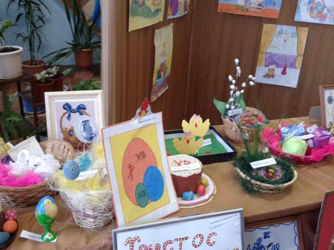 Конкурс детских поделок Пасхальная радость
