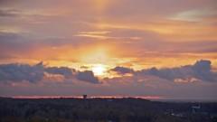 Закат над Внуково
