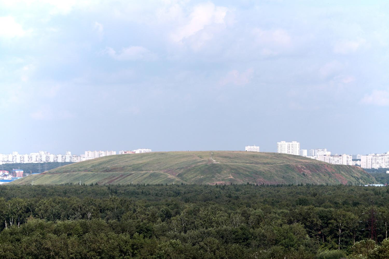 Вид на Саларьевскую свалку