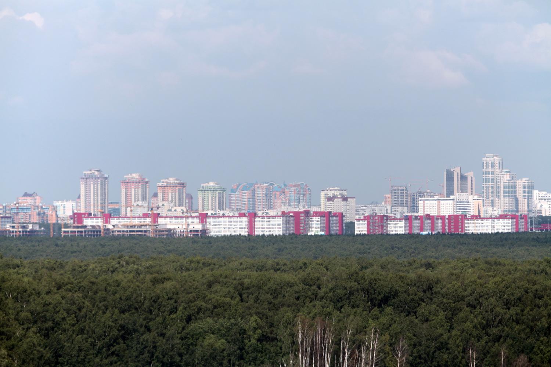 Вид на ТЦ Румянцево