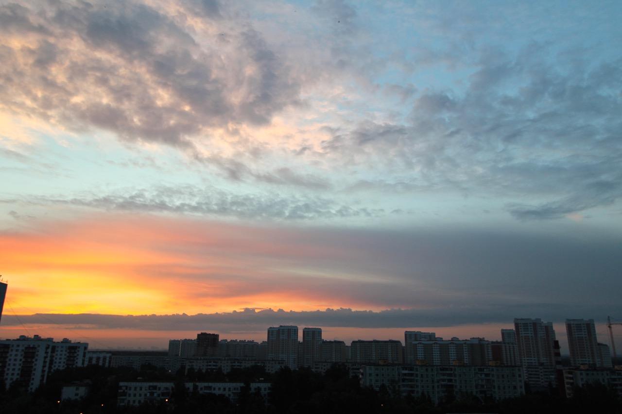 Рассвет в июне 2015