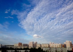 Небо в июне 2015 над Московским
