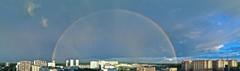 Круглая радуга над Московским