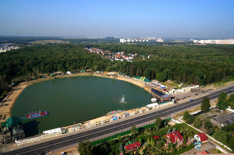 Пруд-озеро напротив Ульяновского совхоза