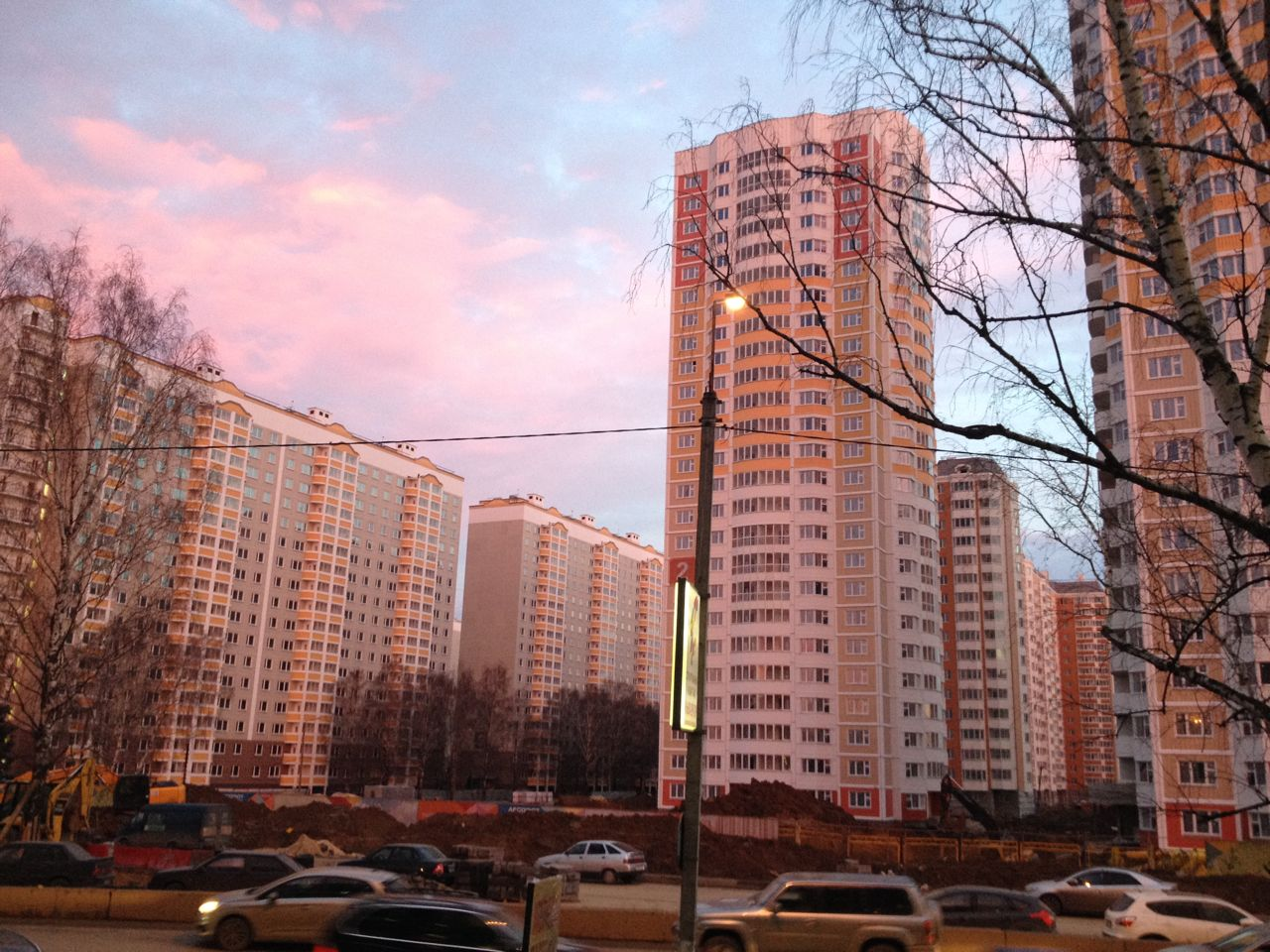 Первый Московский Город Парк осень 2013