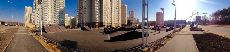 Роллердром в Московском