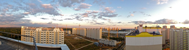 Панорамка в сторону Града