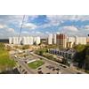 Вид на микрорайон Первый Московский Город Парк из первого микрорайона ;)