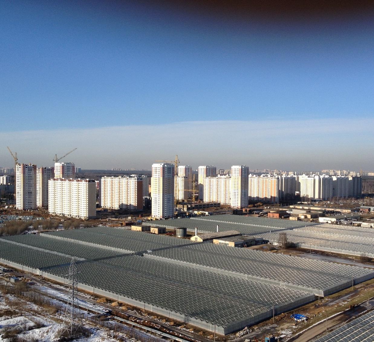 Первый Московский Город Парк строится...