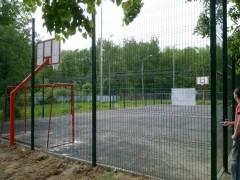 Спортивная площадка, 1 мкр., д. 1