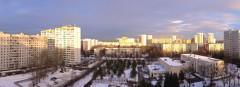 Вид с 21-го дома в старом Московском