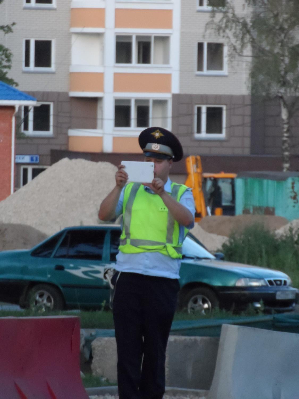 Оперативно-следствинная съёмка сотрудником ГИБДД