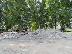 Свалка 16.07.2014 г. (50 м. от администрации)