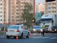 Пешеходный переход, где был совершён наезд