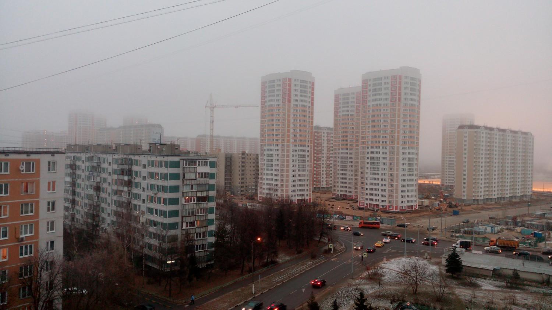 Немного тумана )
