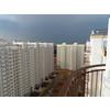 Вид с балкона 17-го этажа (1-й подъезд, ул. Бианки-5)