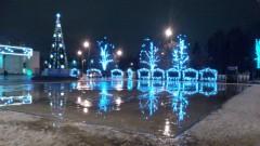 """Площадь перед ДК """"Московский"""" (декабрь 2014 г.)"""