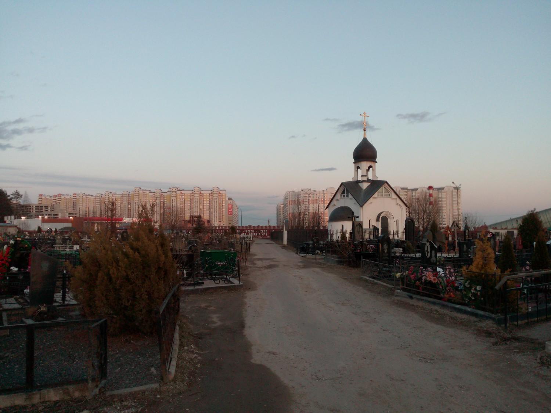"""Пыхтинское кладбище и """"Солнцево парк"""""""