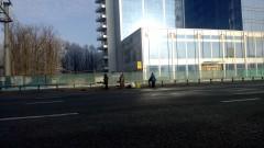 Остановка автобуса № 1043, аэропорт Внуково - Одинцово