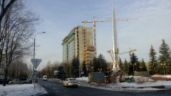 14-этажная гостиница с футбольным стадионом (посёлок Внуково)