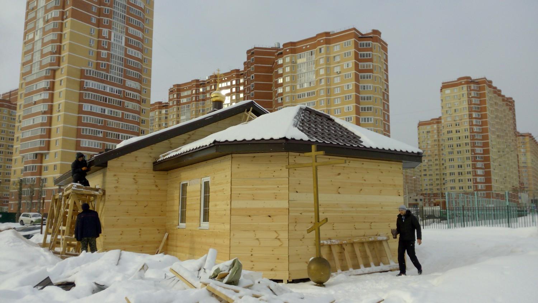 Храм святого Андрея Боголюбского (3 мкр. г. Московский)