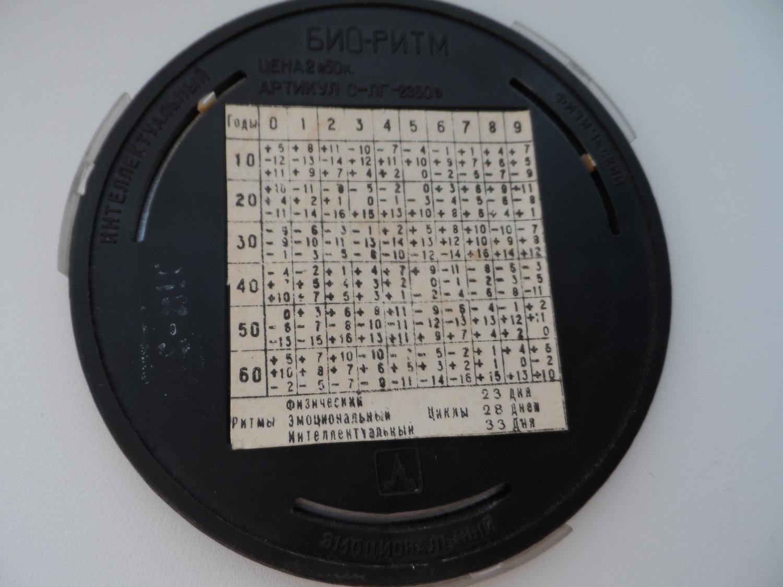 "Календарь ""Био-ритм"""