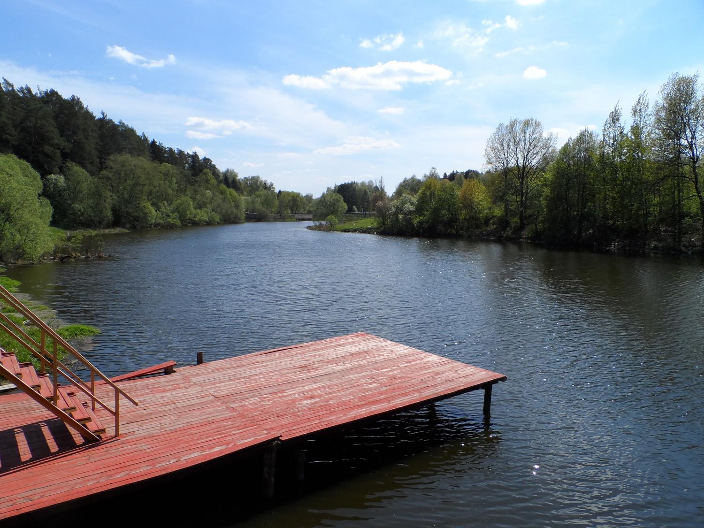 Парк усадьбы Волуево, берег реки Ликова