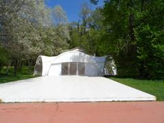 Парк усадьбы Волуево, павельон для проведения мероприятий