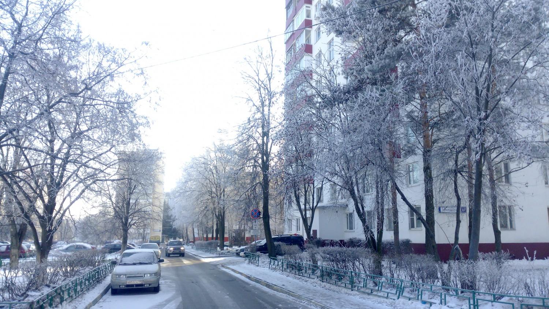 Дорога от 27 дома к гостинице, 1 мкр., г. Московский
