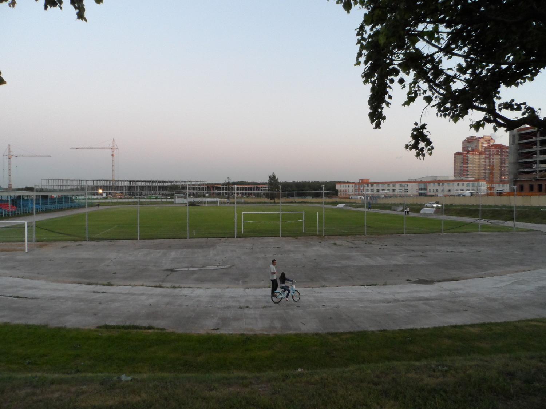 Поле №1 в центре спорта Московский