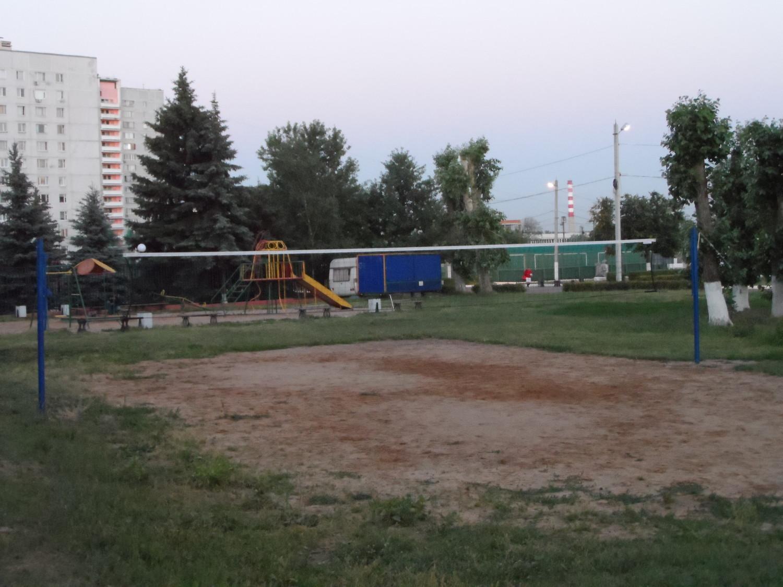 Волейбольная площедка №1 в ценре спорта Московский