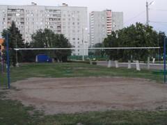 Волейбольная площедка №2 в ценре спорта Московски